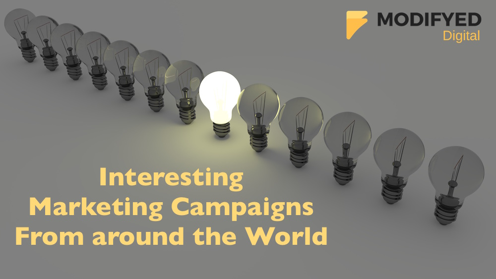 13 Examples of Interesting Marketing Campaigns From Around The World